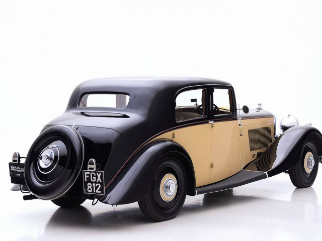 1938 Bentley 4 1/4 Litre Saloon For Sale By Hyman LTD
