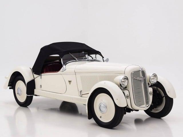 1935 Adler Trumpf Junior Sports Roadster