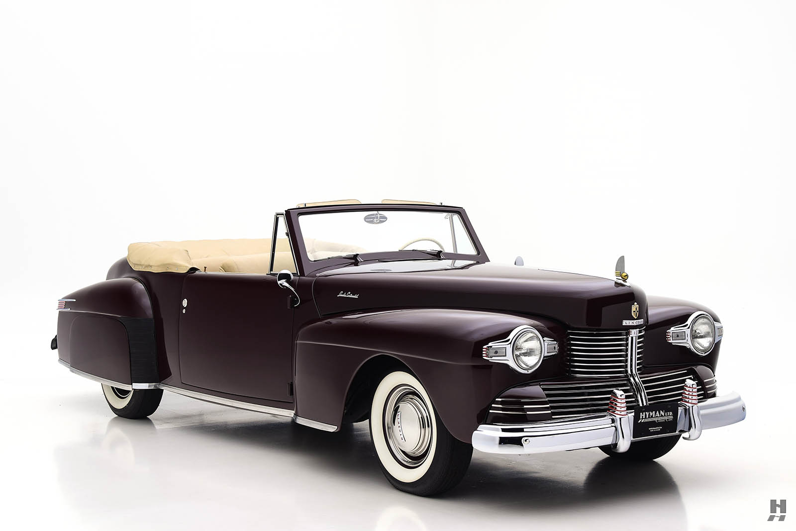 Lincoln Motor Company >> 1942 Lincoln Continental Convertible | Hyman Ltd.