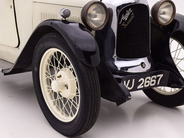 1930 Austin Swallow Saloon Coupe For Sale By Hyman LTD