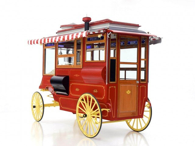 1910 Cretors Model D Horse-Drawn Popcorn Wagon Classic Car For Sale | Buy 1910 Cretors Model D Popcorn Wagon at Hyman LTD