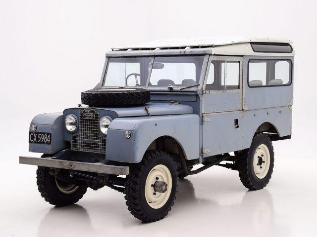 1955 Land Rover Series 1 Station Wagon Classic Car For Sale | Buy 1955 Land Rover Series 1 Station Wagon at Hyman LTD
