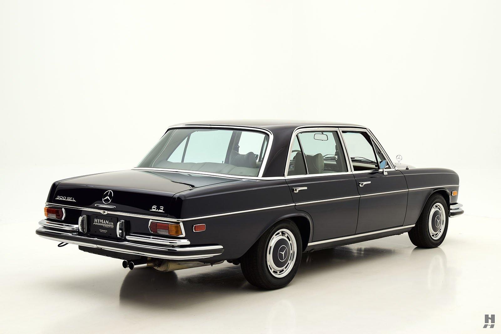 1970 mercedes benz 300 sel 6 3 sedan hyman ltd classic cars for Buy old mercedes benz