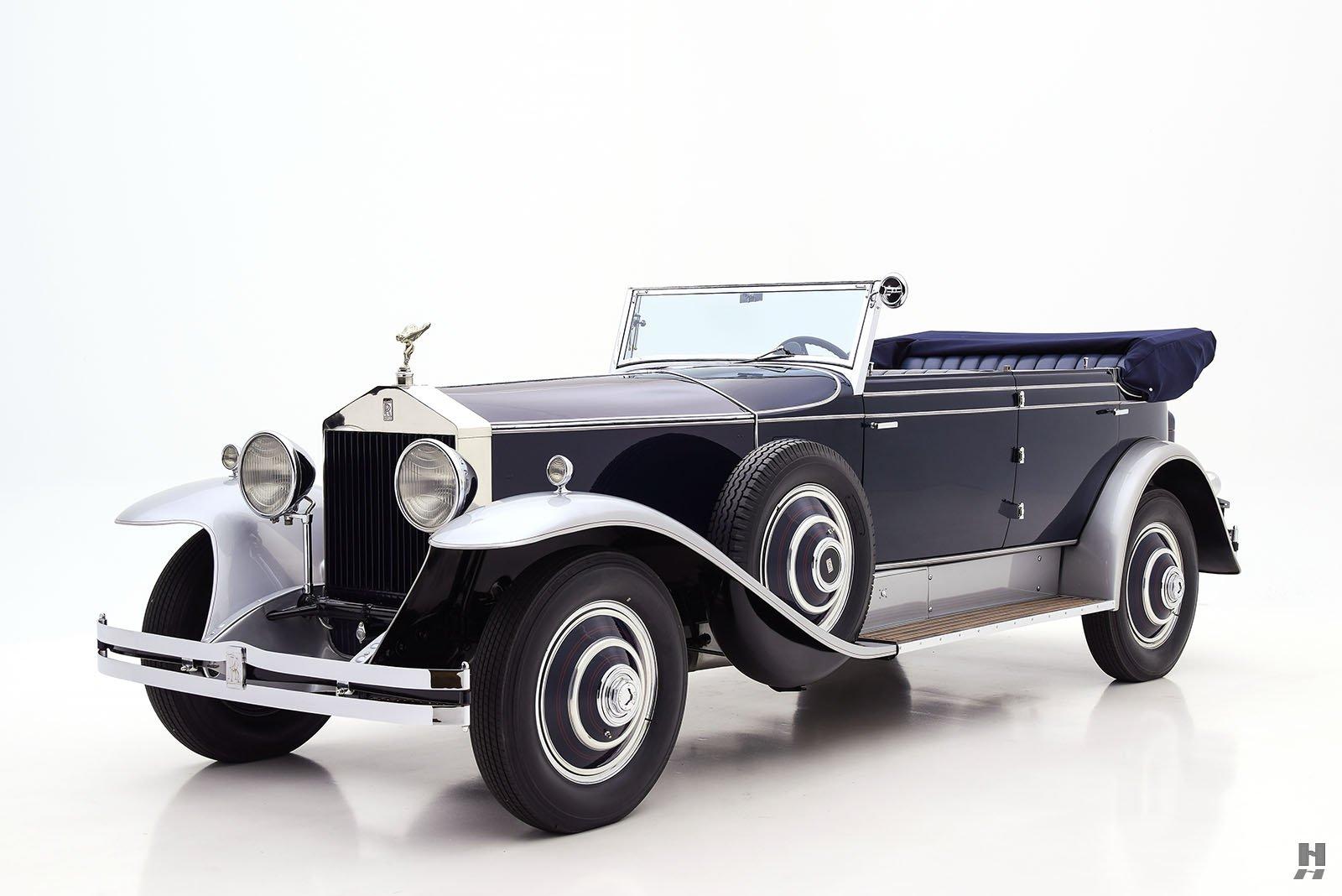 1930 Rolls-Royce Phantom I Newmarket Phaeton | Hyman Ltd. Classic Cars