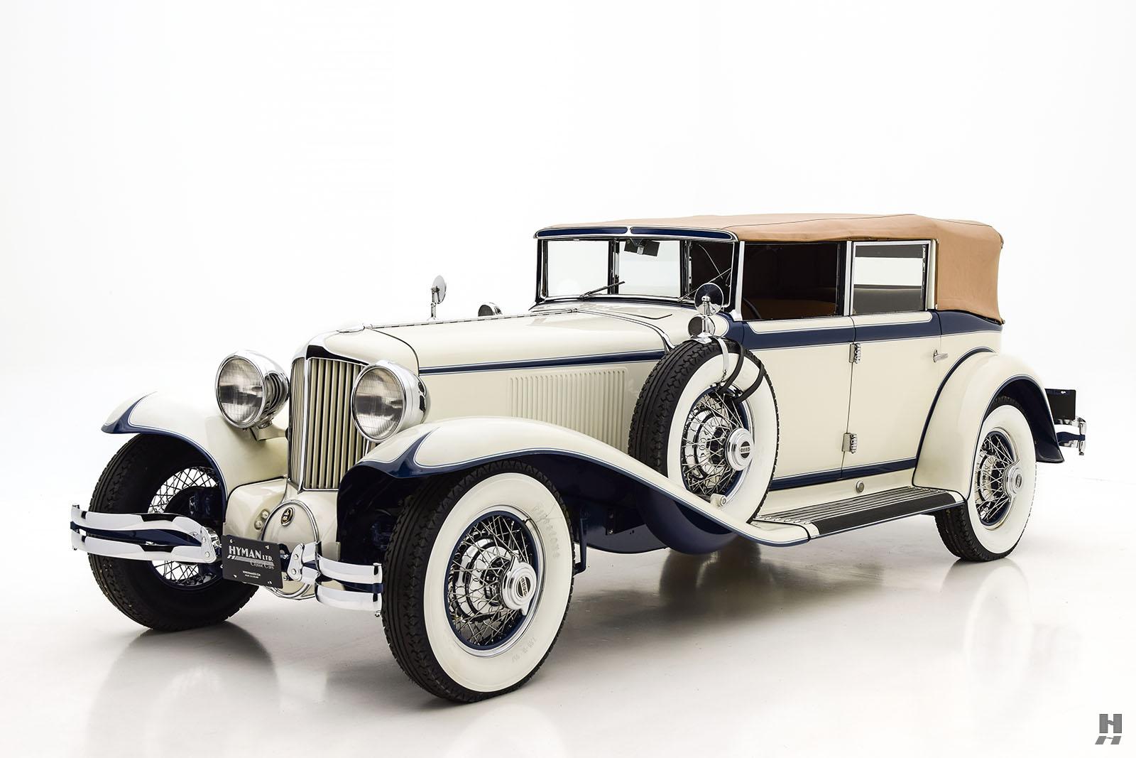 1930 Cord L29 Convertible Sedan | Hyman Ltd. Classic Cars