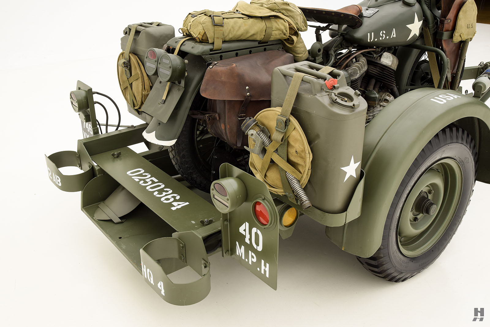 1943 Dodge WC51 And 1943 Harley WL For Sale | Buy Classic ...