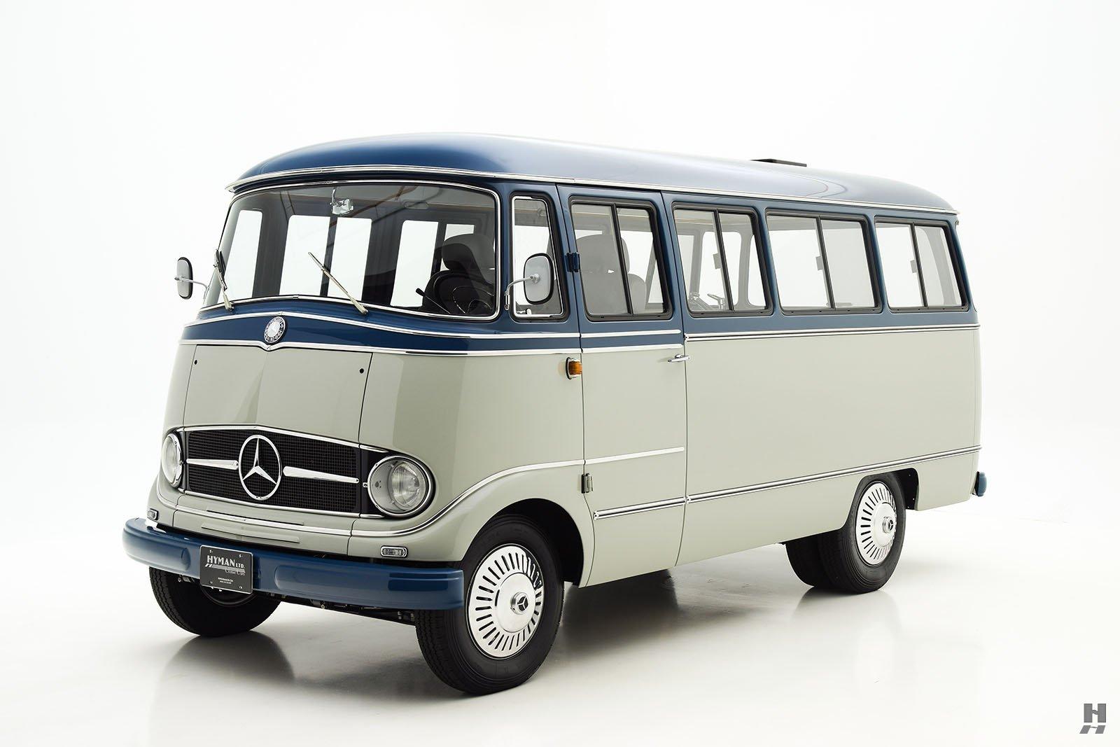 1960 mercedes benz 319 bus hyman ltd classic cars for Mercedes benz transit