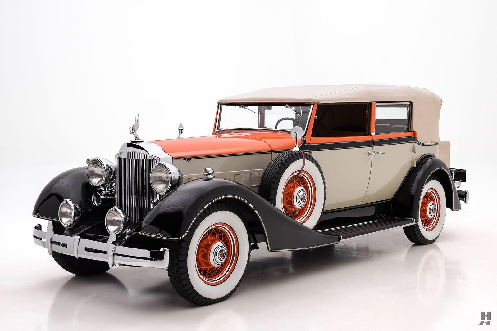 1934 Packard Eight Convertible Sedan   Hyman Ltd. Classic Cars