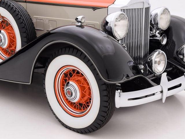 1934 Packard 1101 Convertible Sedan Classic Car For Sale | Buy 1934 Packard 1101 Convertible Sedan at Hyman LTD