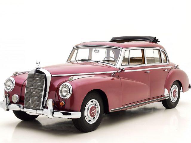 1956 Mercedes-Benz 300 C Sedan Car For Sale | Buy 1956 Mercedes-Benz 300 C Sedan at Hyman LTD