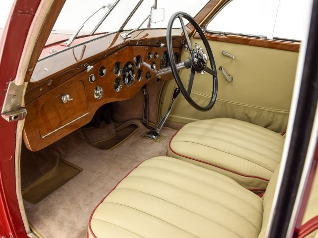 1936 Bentley 4 1/4 Litre Airflow Saloon For Sale at Hyman LTD