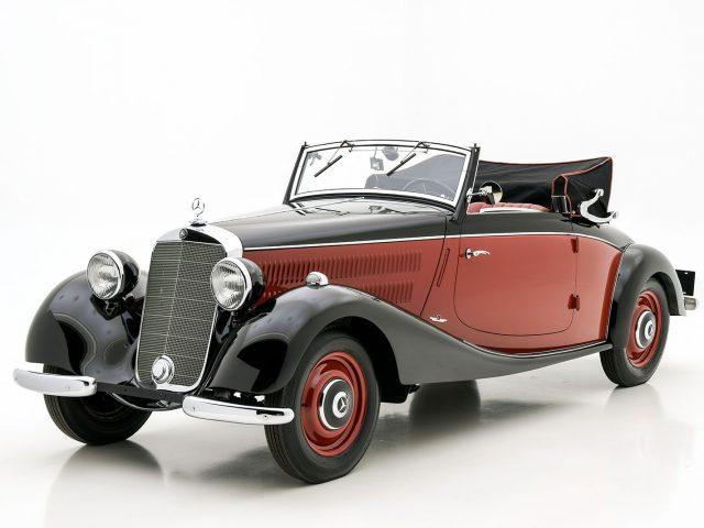 1938 Mercedes-Benz 170 V Cabriolet Classic Car For Sale | Buy 1938 Mercedes-Benz 170 V Cabriolet at Hyman LTD