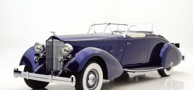 1937 Packard Twelve Dual Cowl Phaeton Classic Car For Sale | Buy 1937 Packard Twelve Dual Cowl Phaeton at Hyman LTD