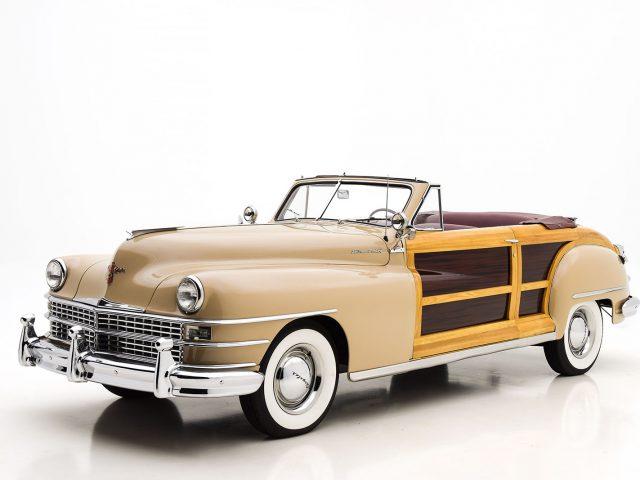 1947 Chrysler Town & Country Convertible Classic Car For Sale | Buy Chrysler Town & Country Convertible at Hyman LTD