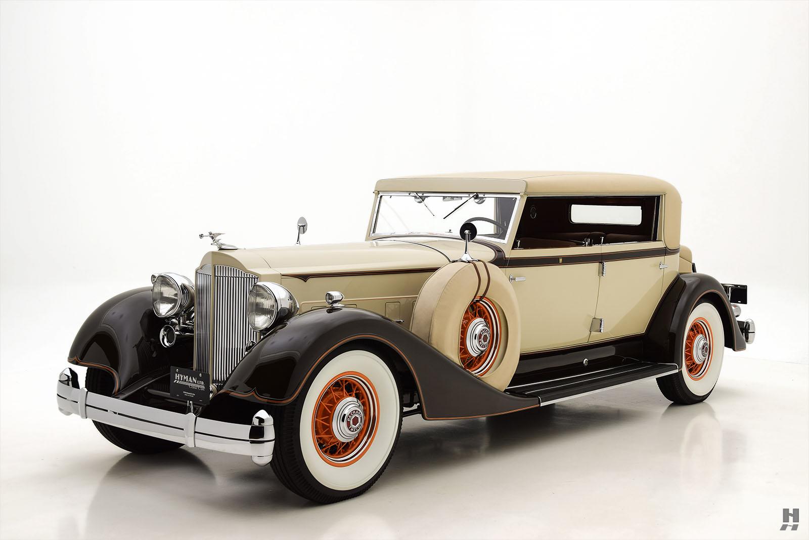 1934 Packard 1108 Derham Sport Sedan | Hyman Ltd. Classic Cars