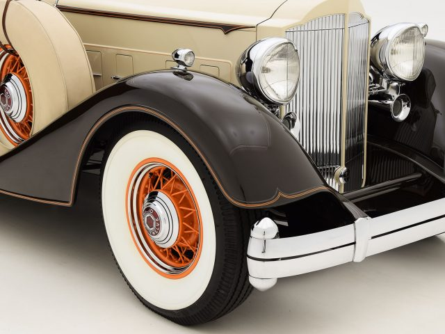 1934 Packard 1108 Derham Sport Sedan Classic Car For Sale | Buy 1934 Packard 1108 Derham Sport Sedan at Hyman LTD