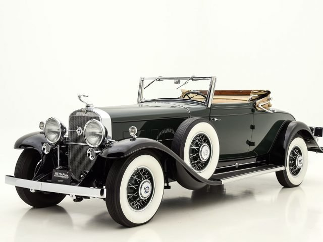 1931 Cadillac V12 Convertible Coupe For Sale By Hyman LTD
