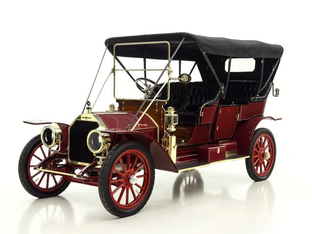 1910 Stevens Duryea Model X Touring Classic Car For Sale | Buy 1910 Stevens Duryea Model X Touring at Hyman LTD