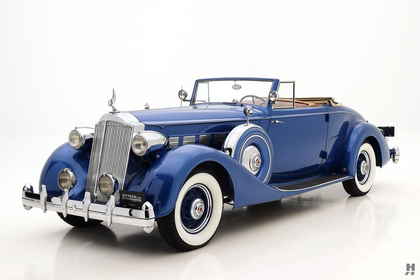 1936 Packard Super 8 Coupe Roadster | Hyman Ltd. Classic Cars