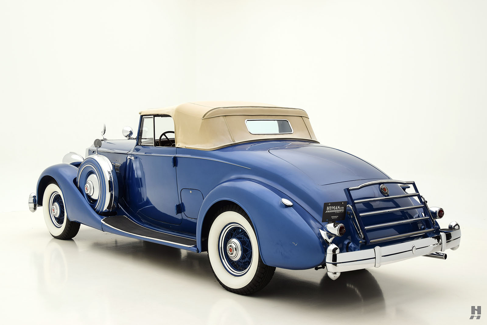 1936 Packard Super 8 Coupe Roadster | Hyman Ltd. Classic Cars
