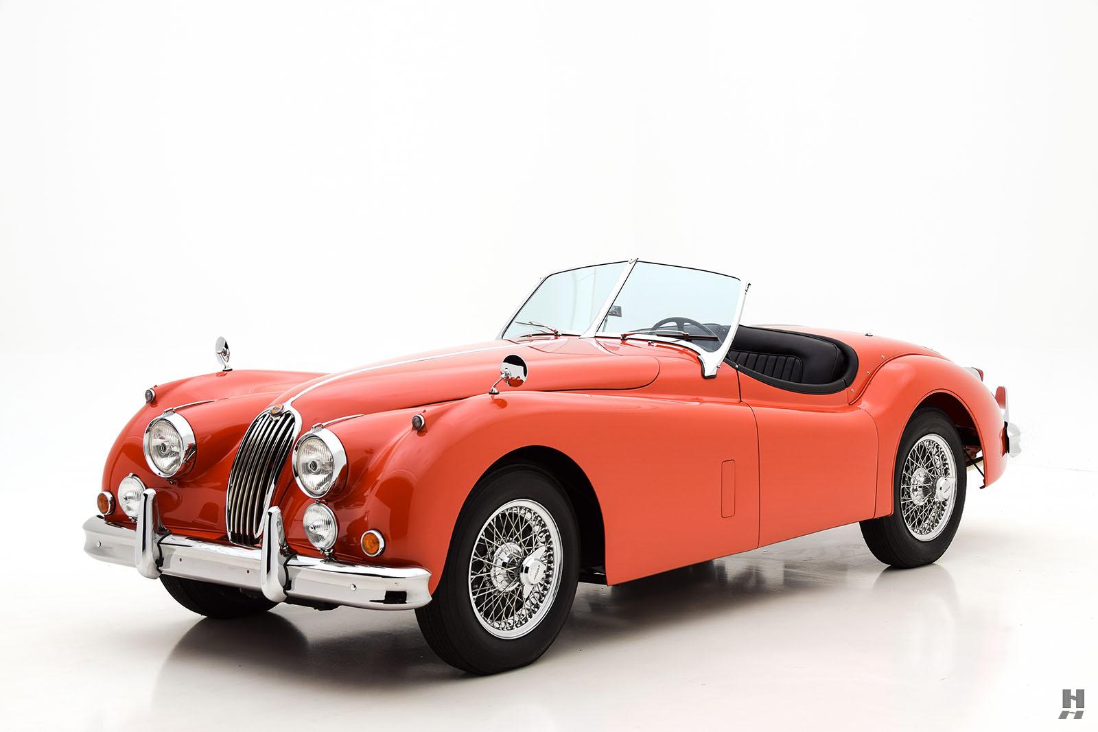Cars to Watch: Bonhams Scottsdale | Premier Financial Services  |1955 Jaguar Roadster