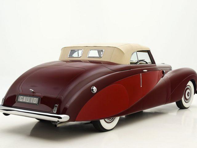 1948 Daimler DE36 Drophead Classic Car For Sale | Buy 1948 Daimler DE36 Drophead at Hyman LTD