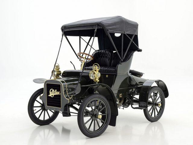 1906 Cadillac Model K Folding Tonneau For Sale By Hyman LTD