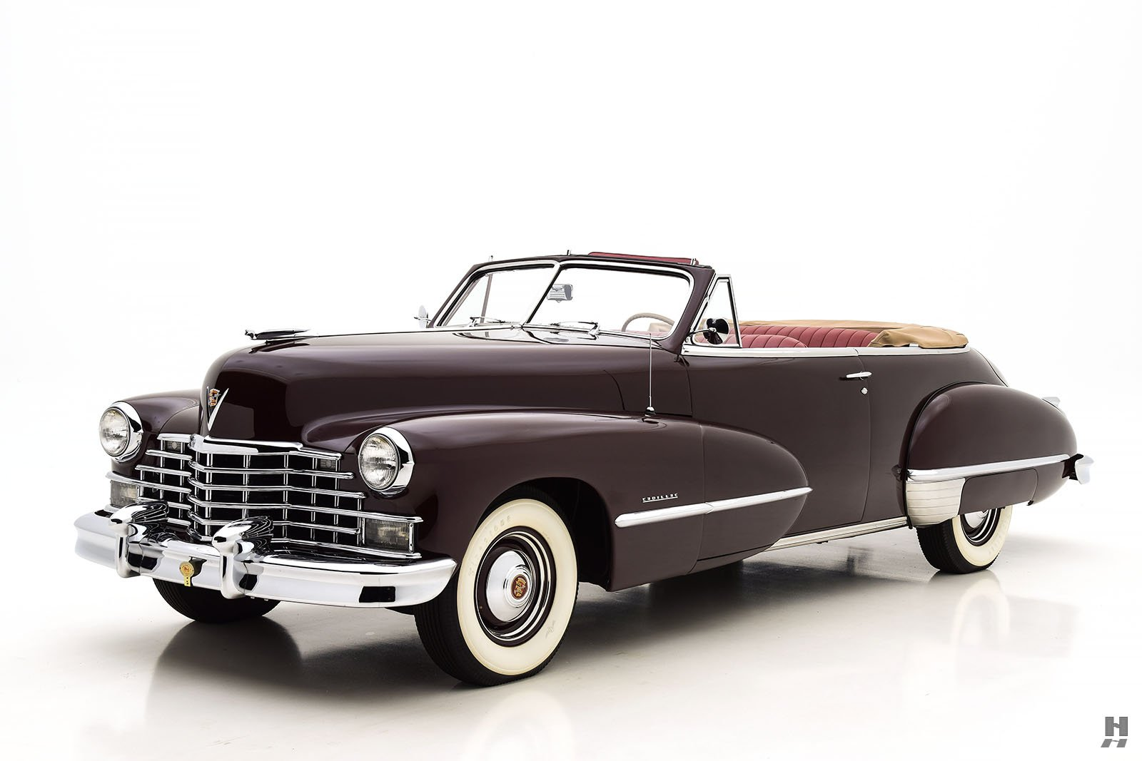1946 Cadillac Series 62 Convertible Hyman Ltd Classic Cars 50s V8 Engine Sales Archive
