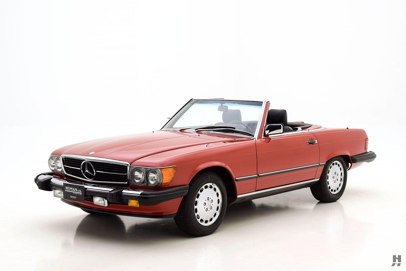 1987 mercedes benz 560sl convertible for sale classic cars hyman ltd. Black Bedroom Furniture Sets. Home Design Ideas