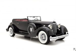 1934 Packard Twelve Victoria Convertible For Sale | Hyman LTD