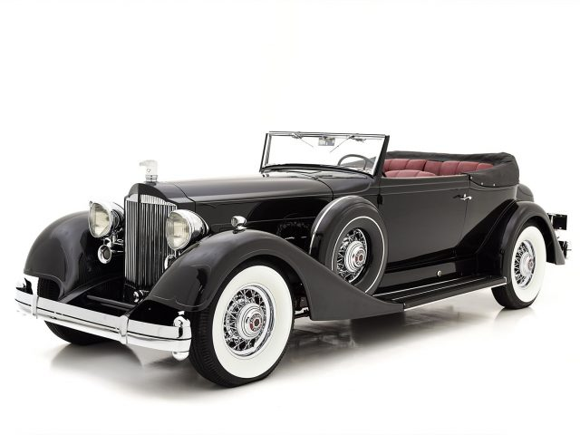 1934 Packard Twelve Victoria Convertible For Sale at Hyman LTD