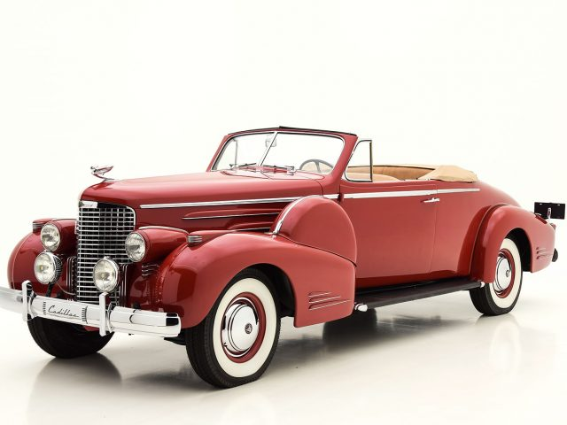 1938 Cadillac V16 Convertible Coupe Classic Car For Sale | Buy 1938 Cadillac V16 Convertible Coupe at Hyman LTD