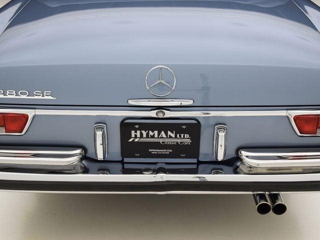 1969 Mercedes-Benz 280SE Convertible Classic Car For Sale | Buy 1969 Mercedes-Benz 280SE Convertible at Hyman LTD