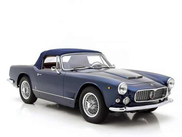 1963 Maserati 3500 Vignale Spider For Sale at Hyman LTD