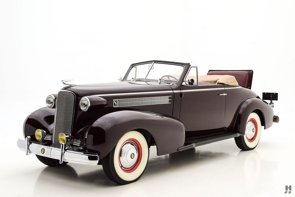 Classic Cadillacs For Sale >> 1937 Cadillac Series 60 Convertible For Sale | Buy Classic Cars | Hyman LTD
