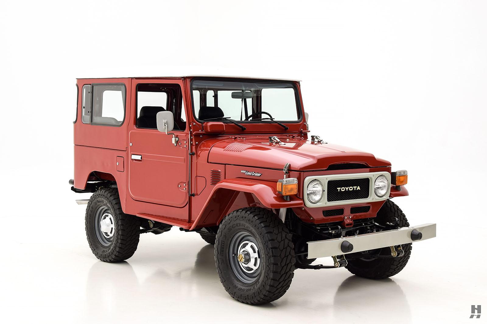 1982 Toyota Fj40 Land Cruiser Hyman Ltd Classic Cars