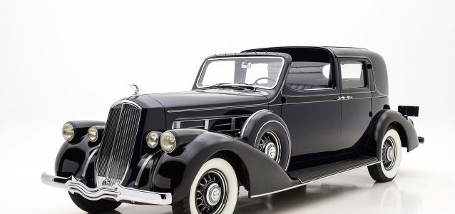 1936 Pierce Arrow Twelve Town Car For Sale at Hyman LTD
