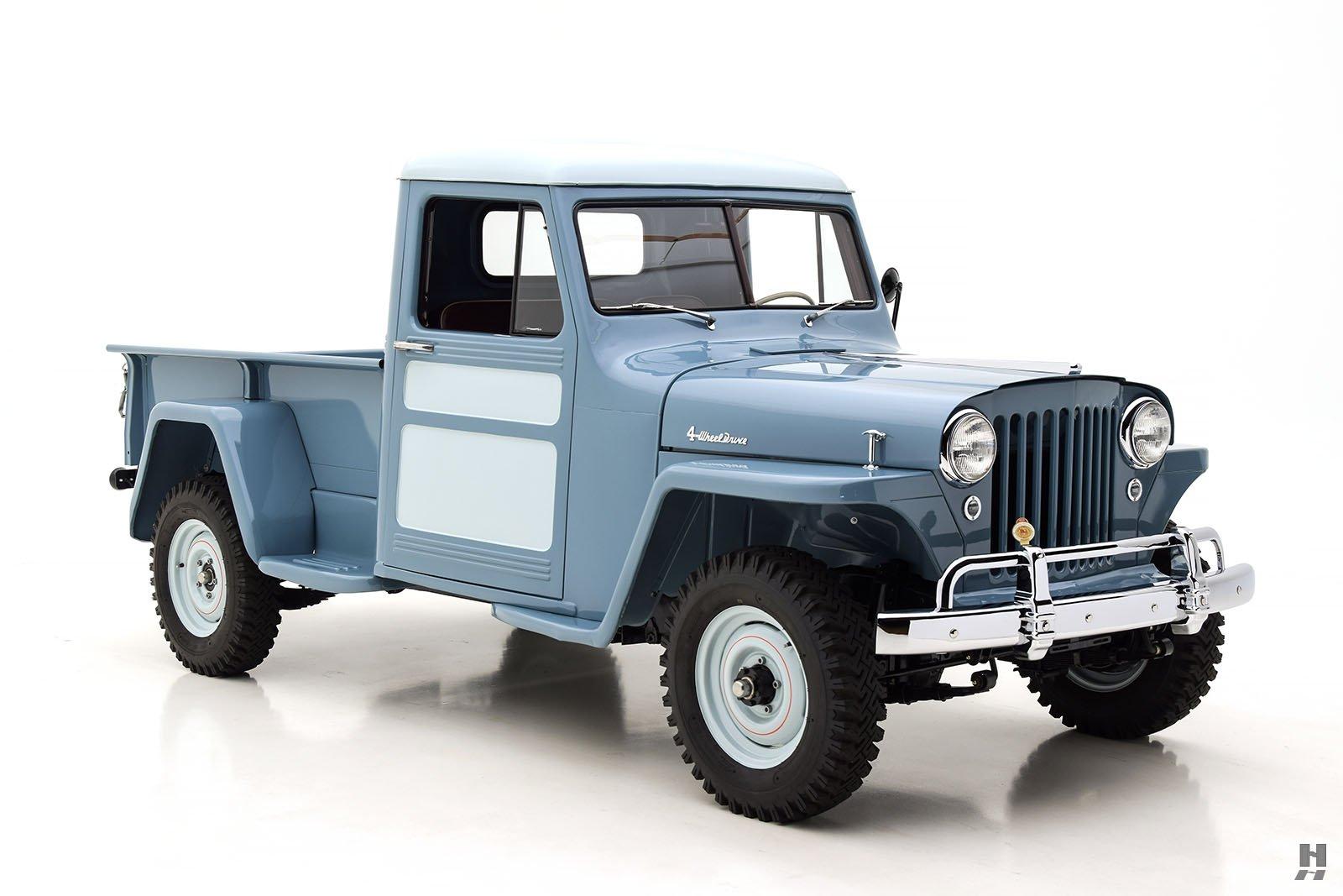 1948 Willys Overland Jeep Pickup Hyman Ltd Classic Cars