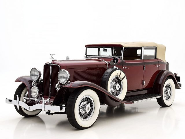 1931 Auburn 8-98 Convertible Phaeton For Sale at Hyman LTD