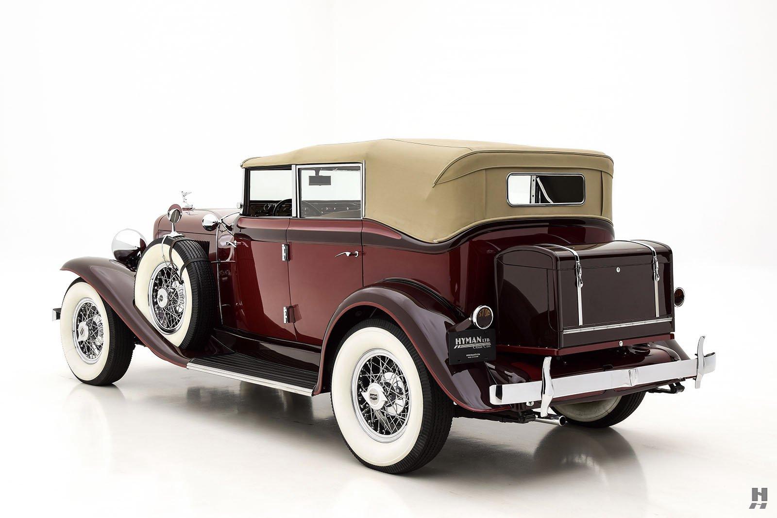1931 Auburn 8-98Convertible Phaeton For Sale | Classic Cars | Hyman LTD