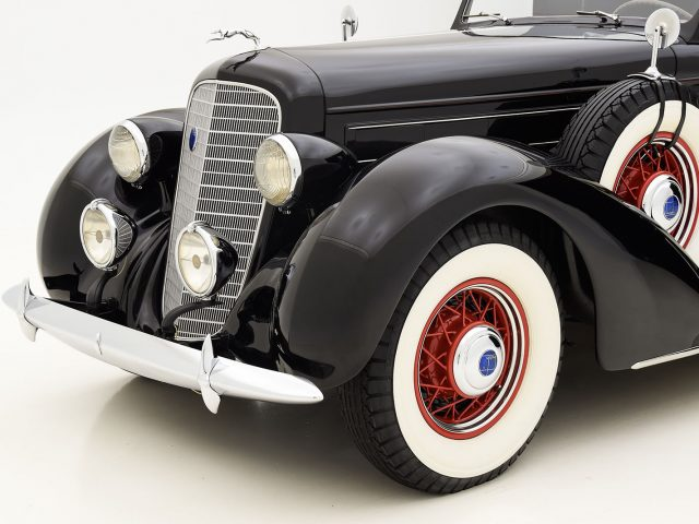 1936 Lincoln Model K Convertible Sedan For Sale at Hyman LTD
