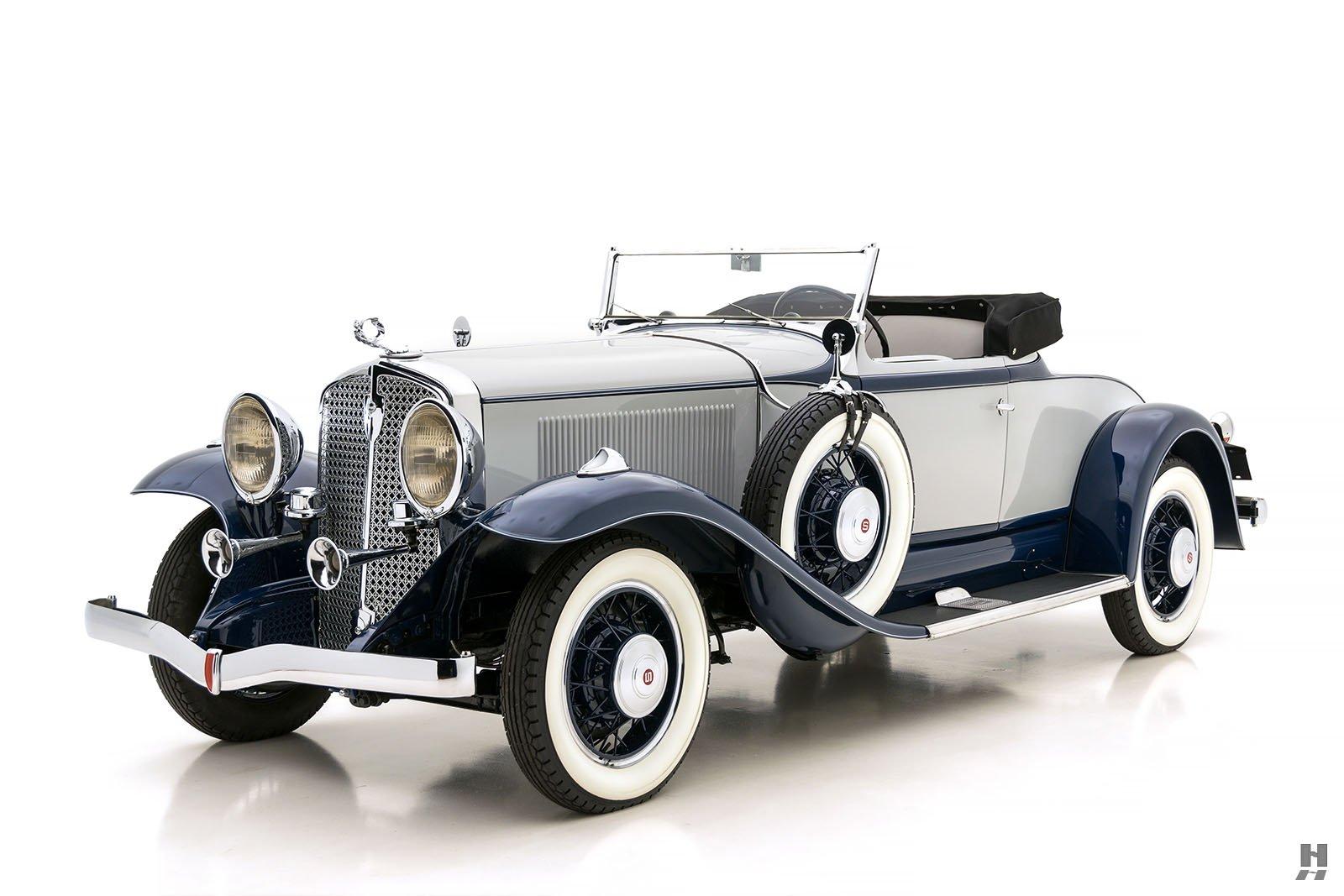 1931 Studebaker President 4 Seasons Roadster For Sale at Hyman LTD