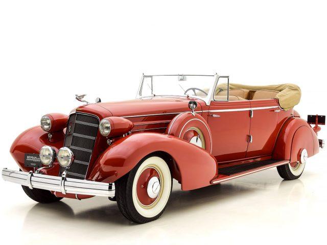1935 Cadillac 355 D Phaeton For Sale By Hyman LTD