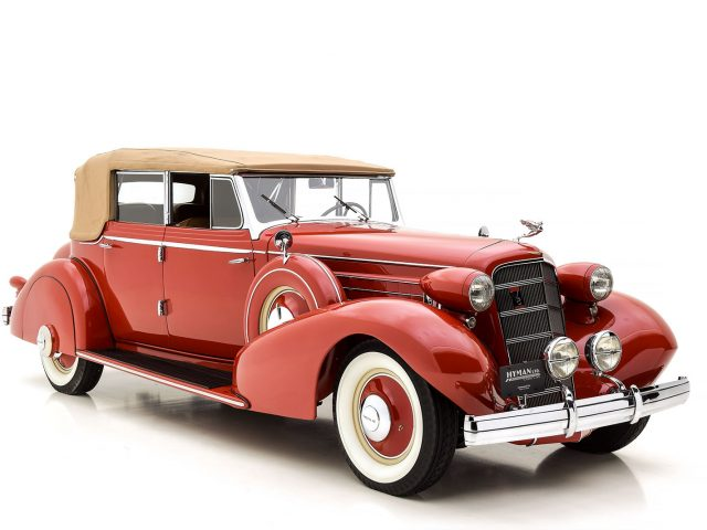 1935 Cadillac 355 D Phaeton For Sale By Hyman LTD