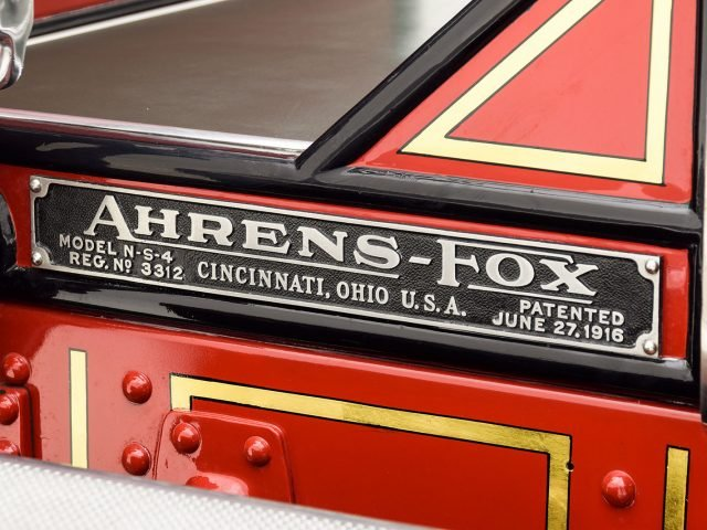 1927 Ahrens Fox N-S-4 Firetruck For Sale at Hyman LTD