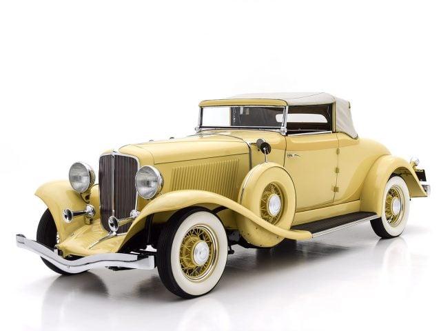 1933 Auburn 8-105 Cabriolet For Sale at Hyman LTD