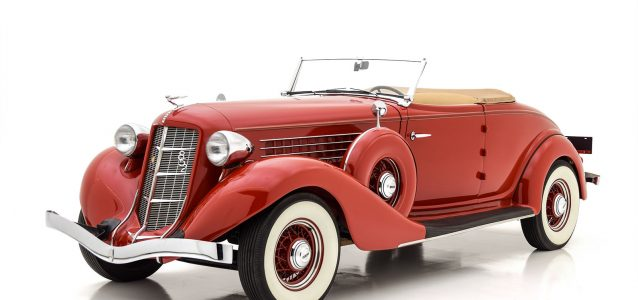 1936 Auburn 852 Cabriolet For Sale at Hyman LTD