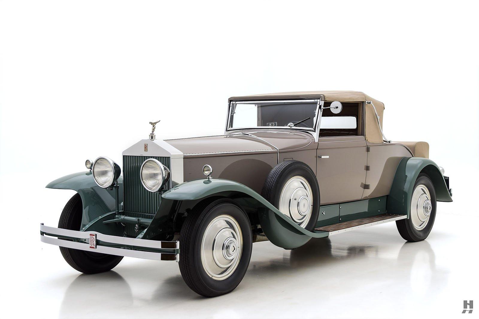 1931 Rolls-Royce Phantom 1 Regent Convertible Coupe For ...