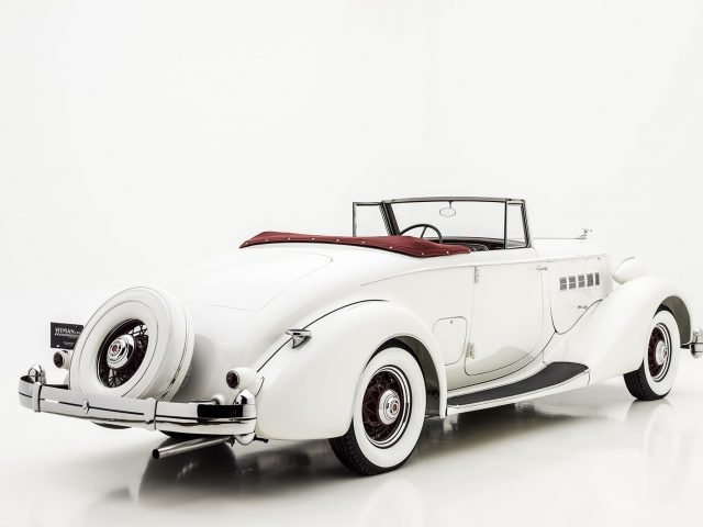 1936 Packard Super Eight Coupe Roadster For Sale By Hyman LTD