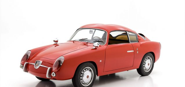 1959 Abarth 750 Zagato Double Bubble For Sale at Hyman LTD